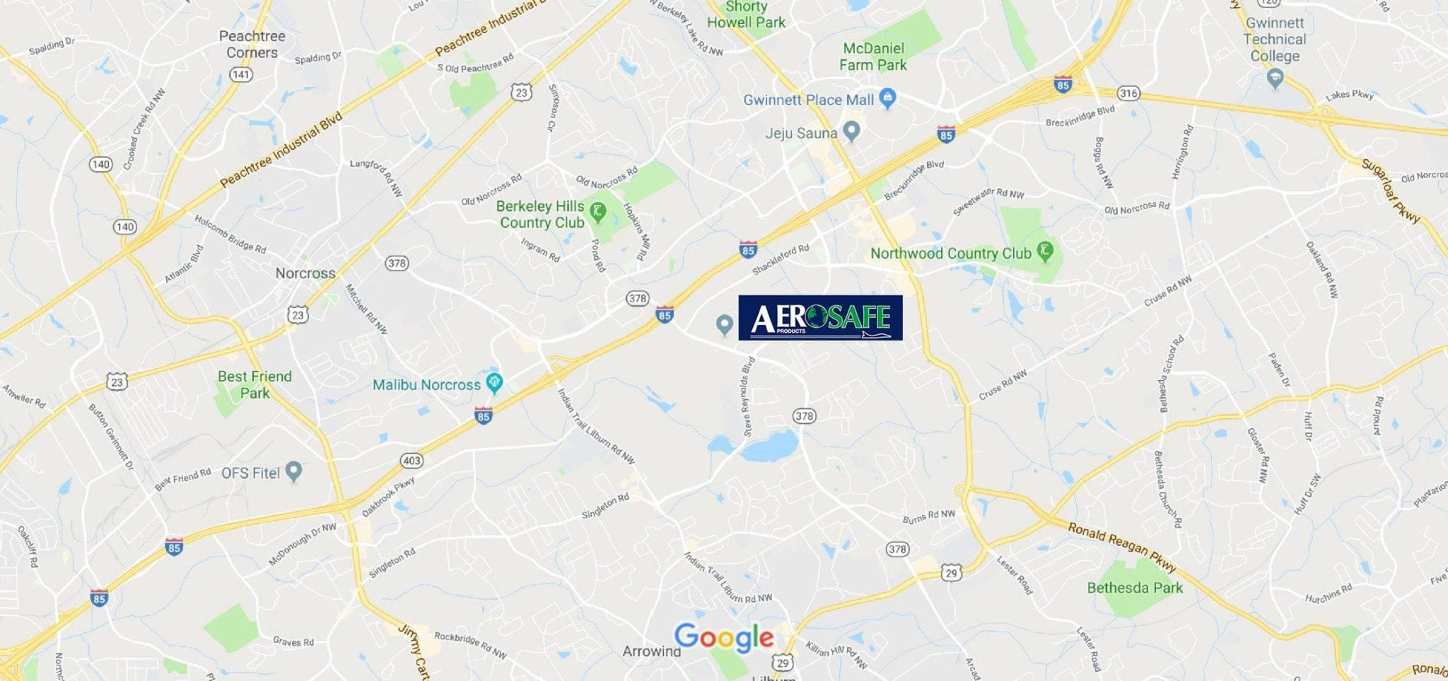 AeroSafe Location